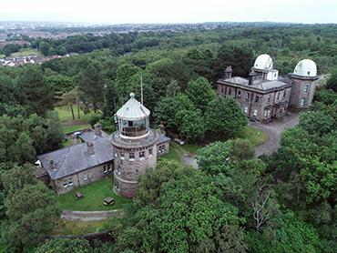 Bidston Hill Lighthouse an Observatory